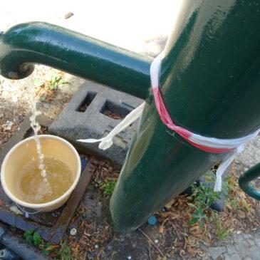 Die meisten Brunnen sind kaputt