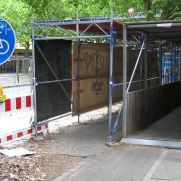 Böse Falle Blücherstraße