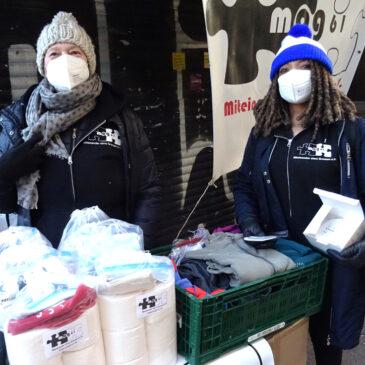 FFP2-Masken für Obdachlose